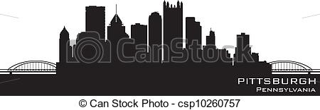 Pittsburgh clipart Clipart Pittsburgh Skyline Pittsburgh cliparts