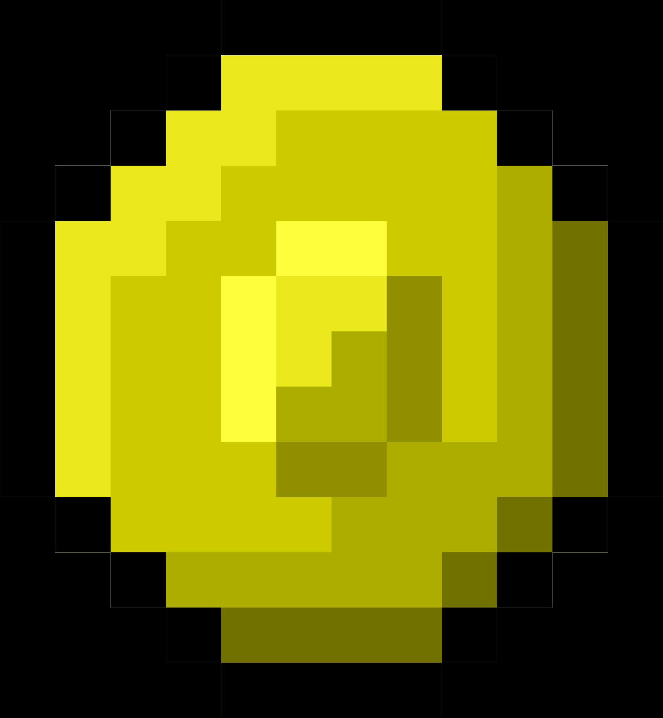 Pixel clipart Pixel Gold Coin Coin Pixel
