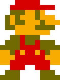 Classics clipart mario Mario Pixel Pixel Clipart Download