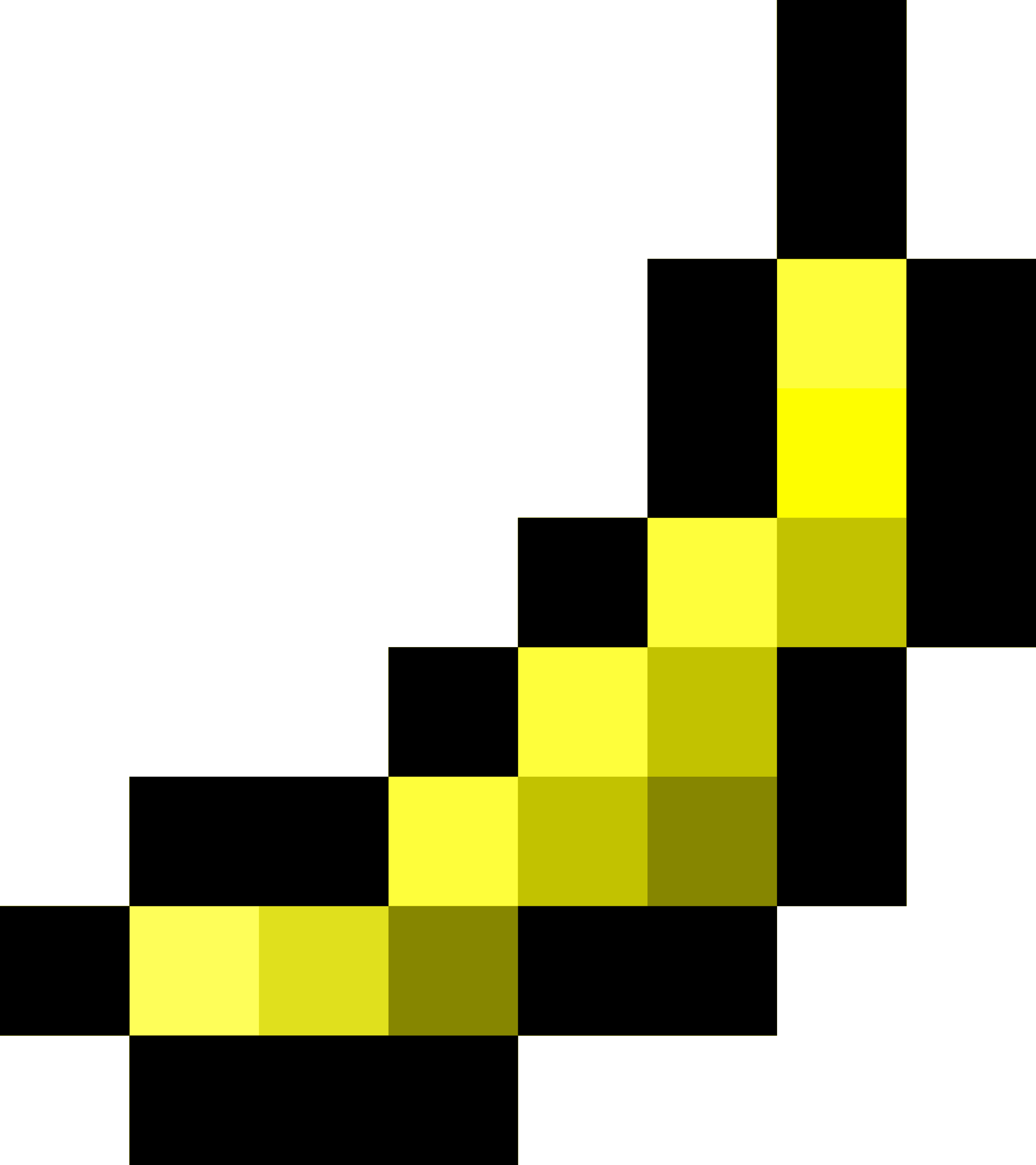 Pixel clipart banana Banana Clipart Pixel by isaiah658
