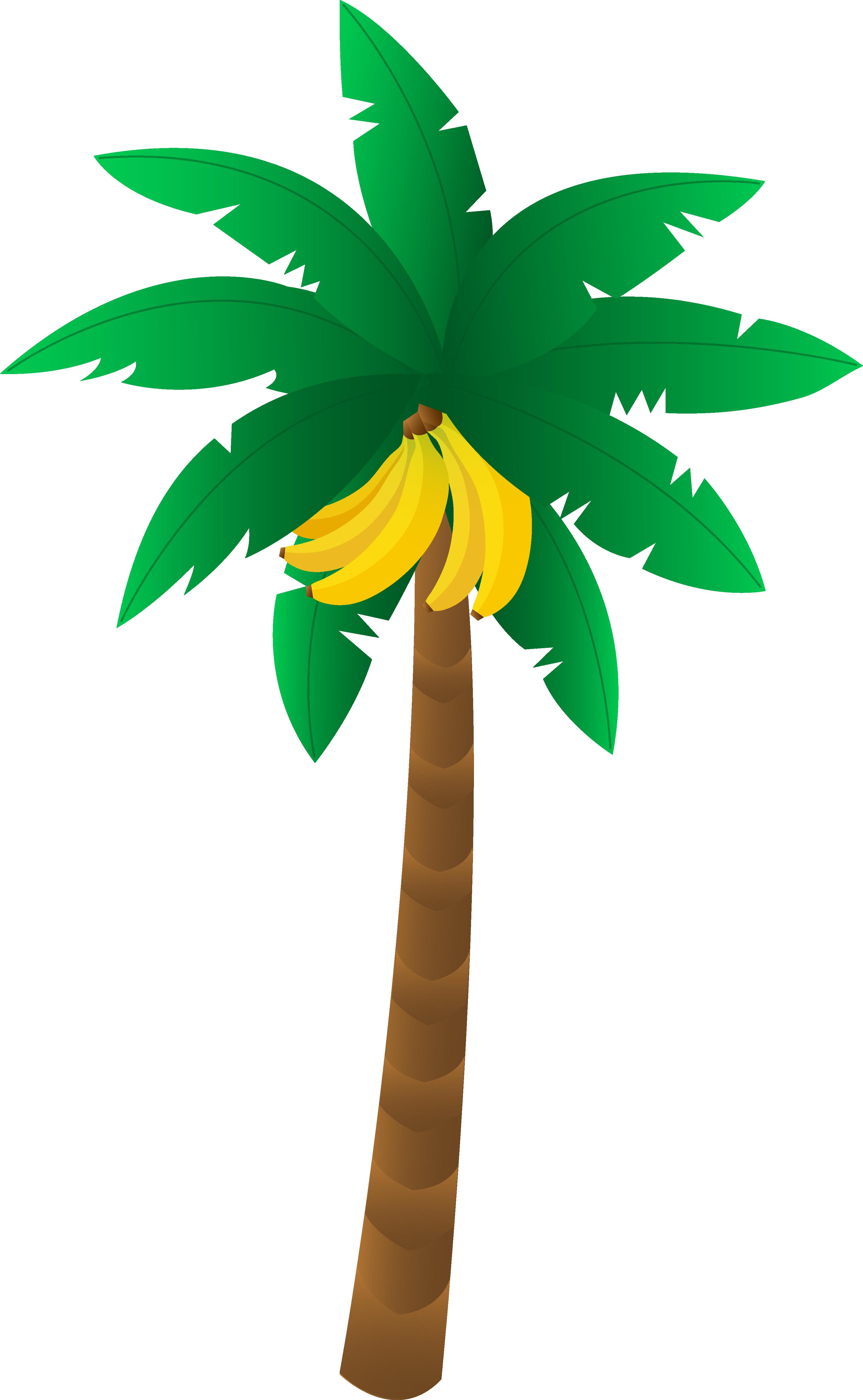 Pixel clipart banana Clipart Tree art banana tree