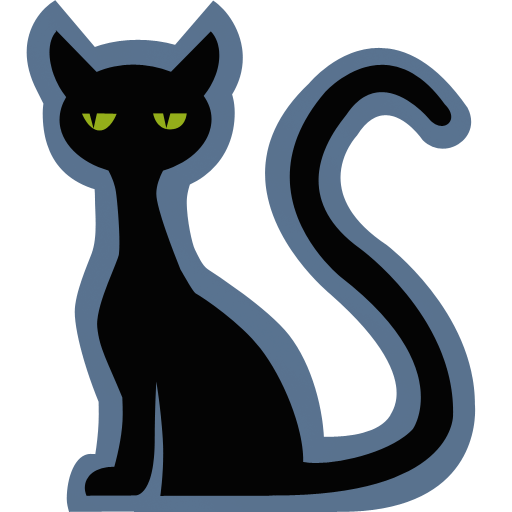 Black Cat clipart superstition Icon Iconset Cat Icon Cat