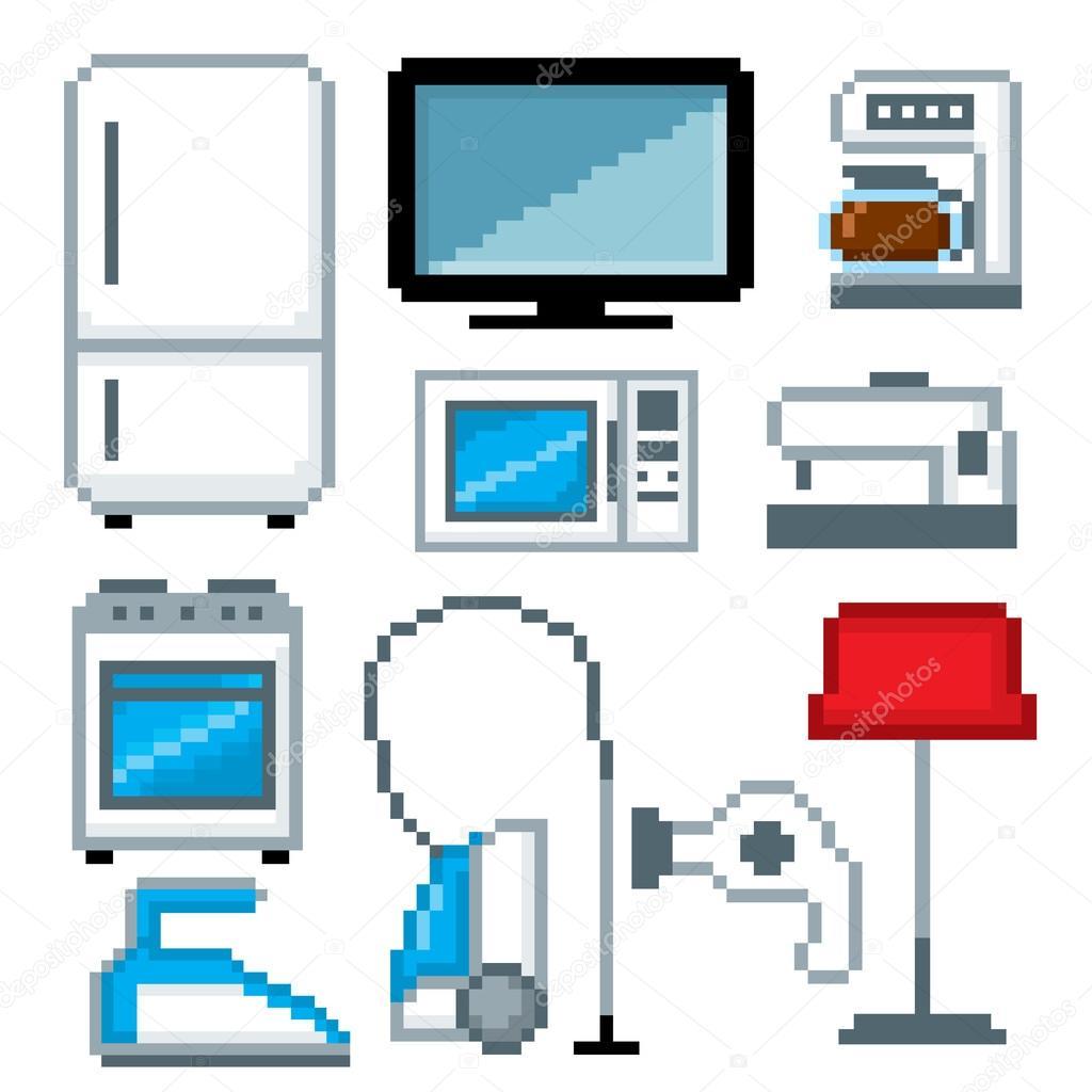 Pixel clipart computer #10