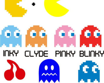 8 Bit clipart pacman Download Pac Video Game Man