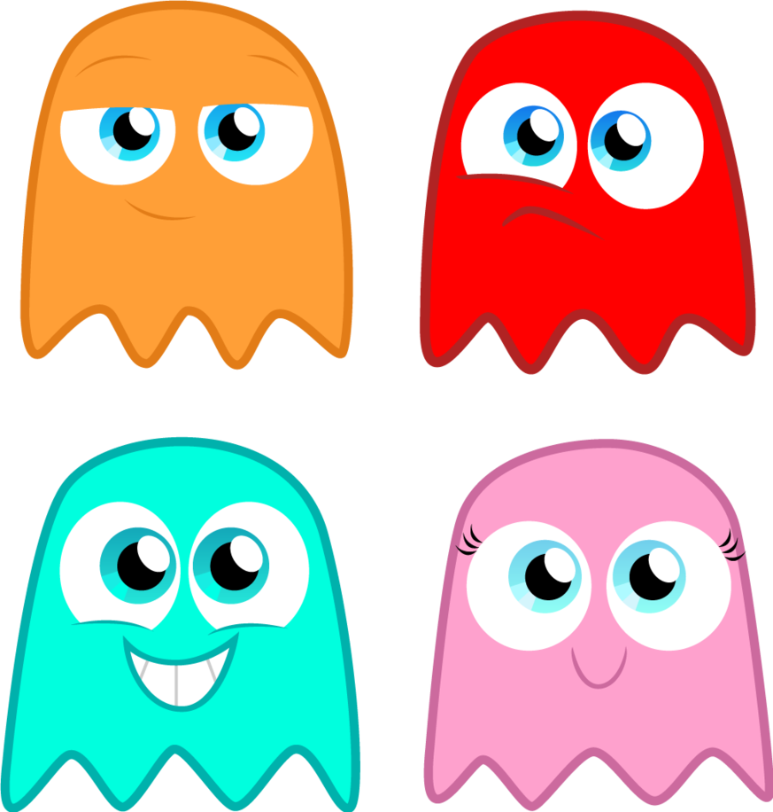 Ghostly clipart small Pacman Image The Deviantart Alisonwonderland