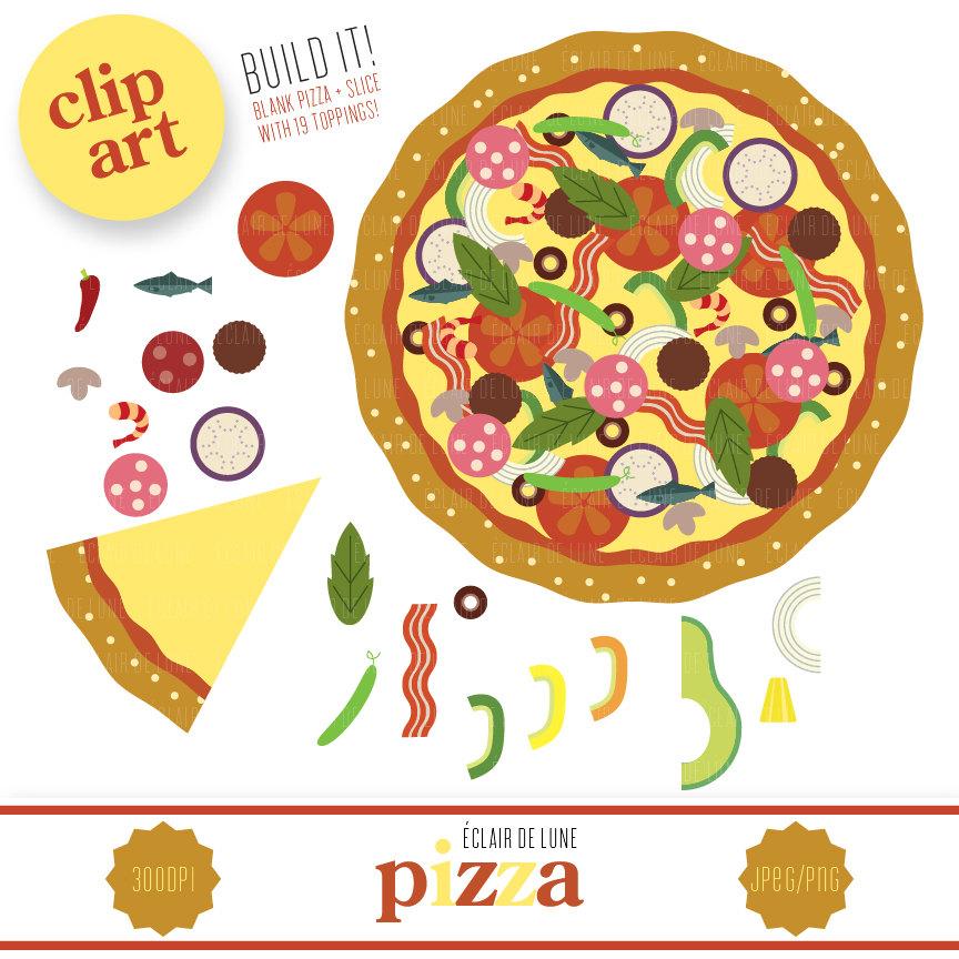 Pizza clipart blank Food Clipart Art Art Pizza