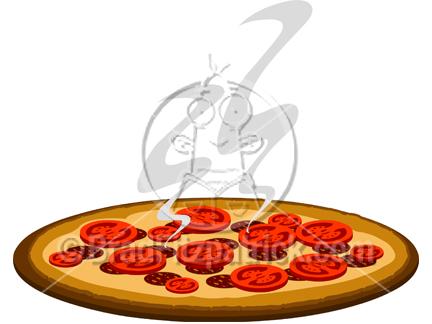 Pizza clipart cartoon Royalty Pizza Art  Free