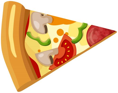 Pizza clipart fast food PNG about clip Pinterest Slice