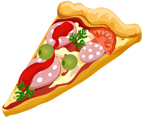 Pizza clipart fast food PNG Clip Yopriceville Transparent Clip