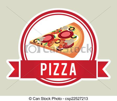 Pizza clipart graphic design Pizza Clip Art vector design