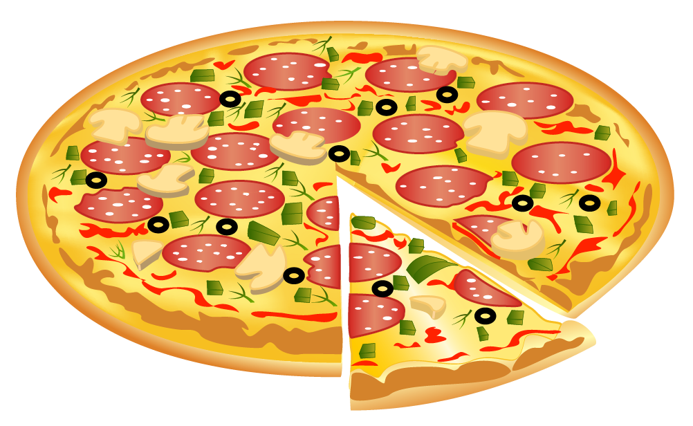 Halloween clipart pizza  High View Yopriceville PNG