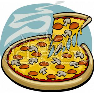 Pizza clipart melted Clip Cartoon Clip Pizza Art