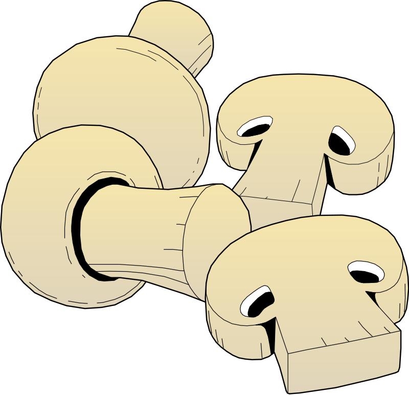 Mushroom clipart topping Mushroom Clipart Mushroom Pizza Download