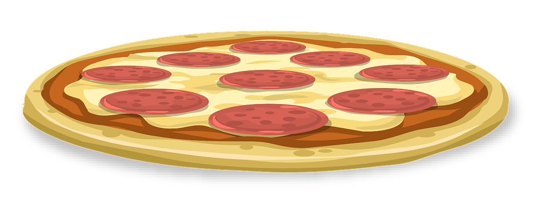 Salami clipart sliced Whole Pepperoni Pizza Pizza to