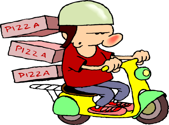 Pizza clipart pizza boy Pizza Pizza Clipart cliparts Delivery