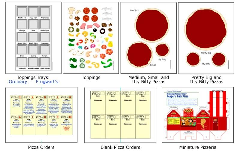 Pizza clipart pizza shop Shops & Extras / Pizza