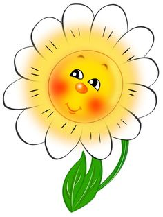 Smiley clipart flower Clipart enjoying Picture the Pinterest