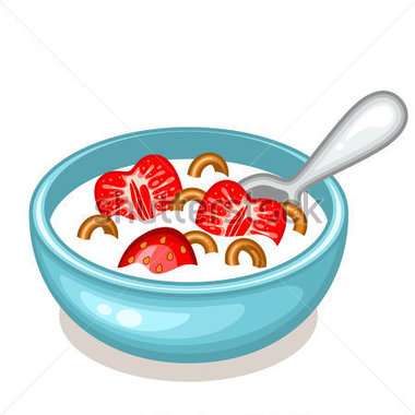Oatmeal clipart bowl spoon Bowl Free Bowl and Free