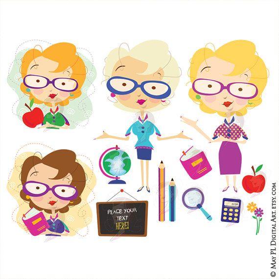 Blonde clipart english teacher My women Pinterest art haired