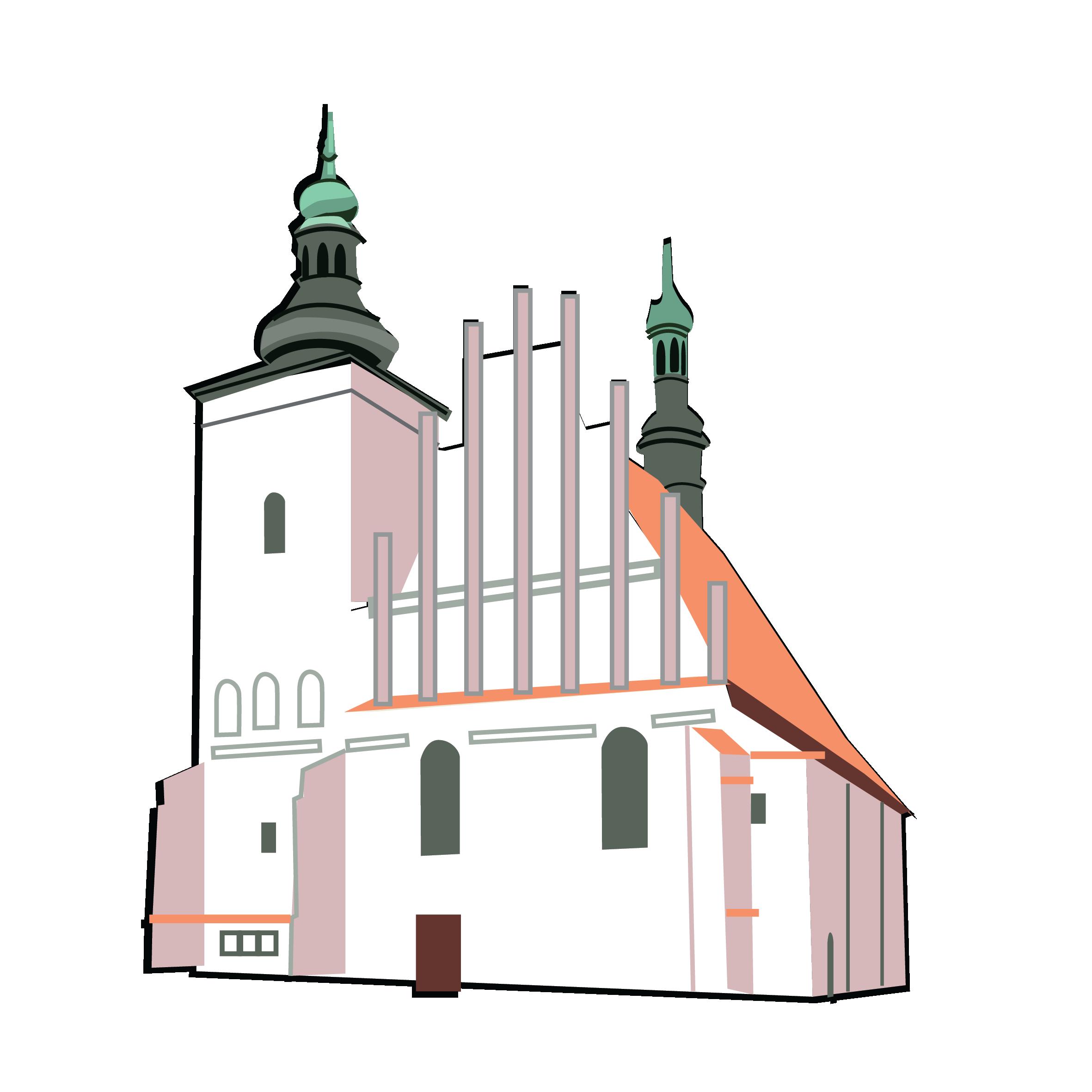 Pl clipart city street Monuments Maryi City – Kościół