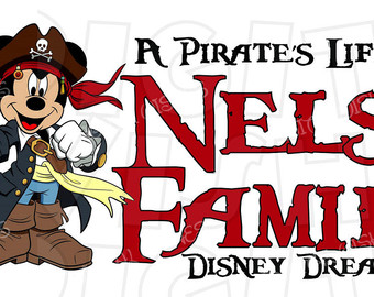 Pl clipart family restaurant Vacation Pirate family Disney Night