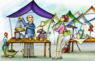 Town clipart open air market #2