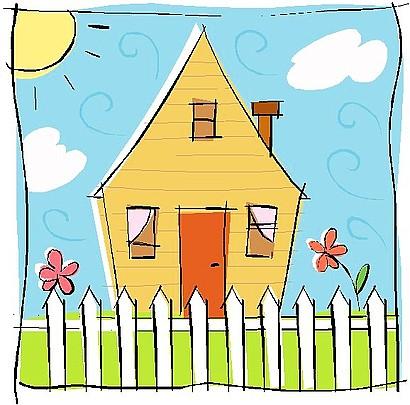 Place clipart grandma's house #4