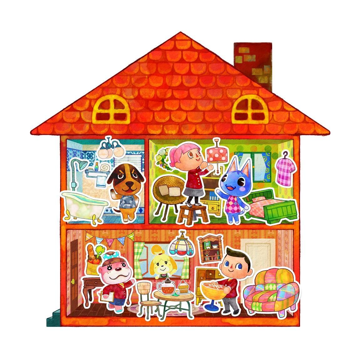 Album Cover clipart animal crossing Home  Designer Amazon 3DS: