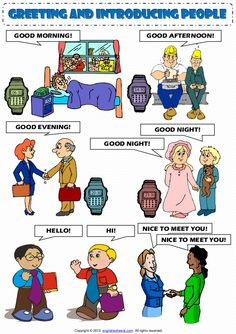 Pl clipart morning afternoon evening GOOD Good MORNING! GREETING INTRODUCING