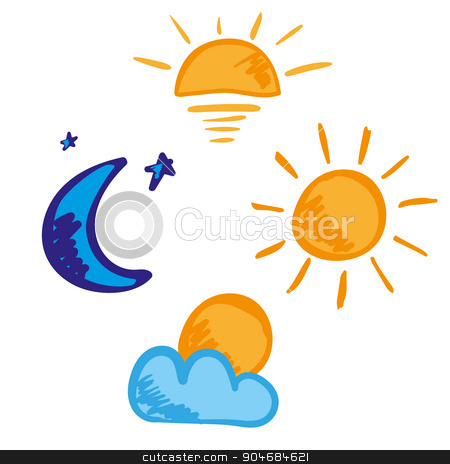 Morning clipart morning afternoon evening Morning images: day evening icon