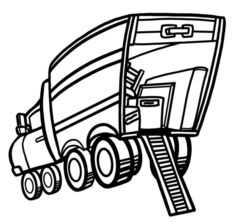 Pl clipart moving house #12