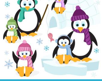 Penguin clipart vintage Penguins Penguin Art clip Penguin