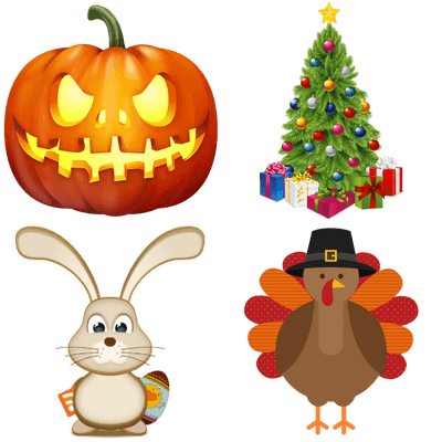 Holydays clipart transparent Free Holidays PNG & Stickers