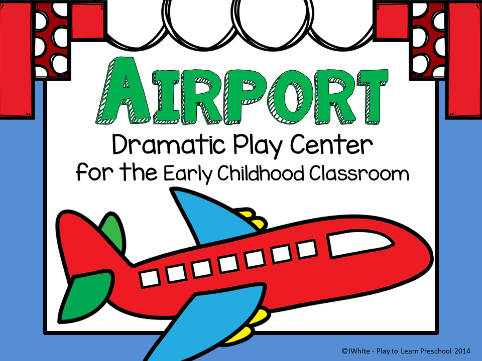 The Kitchen clipart classroom centers Dramatic Play Airport to Learn
