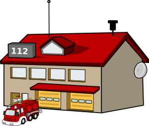 Police clipart fire station #3