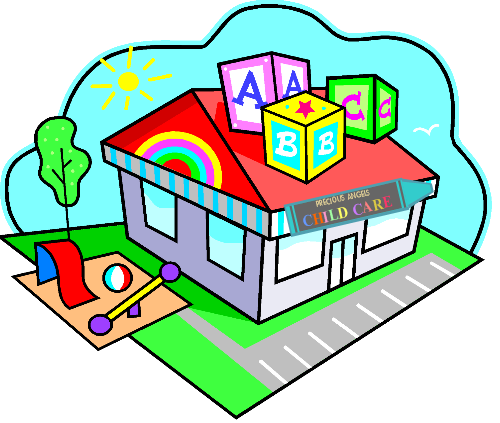 Building clipart day care center Clipart  Care Center Day