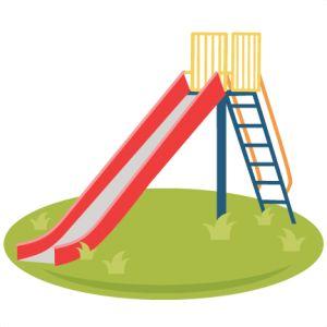 Playground clipart pool slide #6