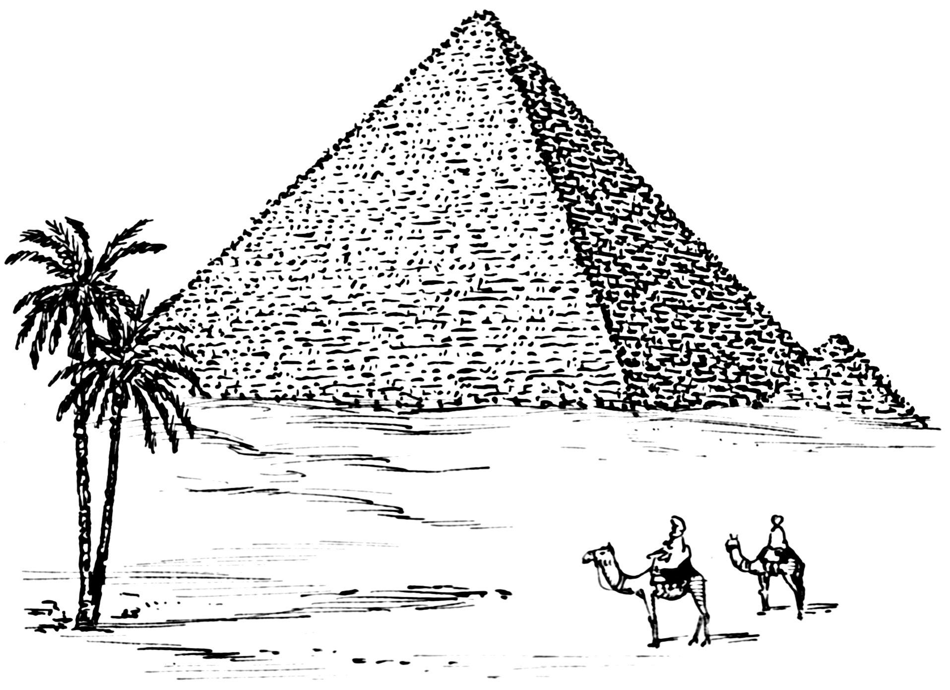 Drawn pyramid egyptian pyramid Commons (PSF) (PSF) File:Pyramid png