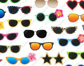 Spectacles clipart shades Art shades SALE Kites Digital