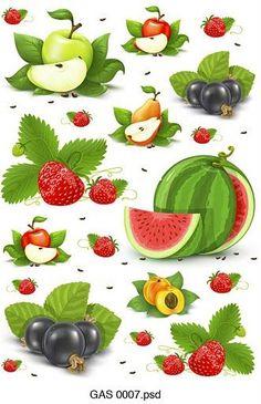 Pl clipart vegetable market RETRO com/chan ESTILO (pág 13940080/all_p55