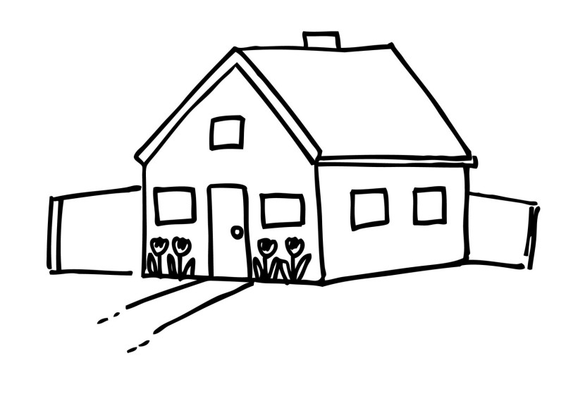 White clipart houseblack Collection house black Home black
