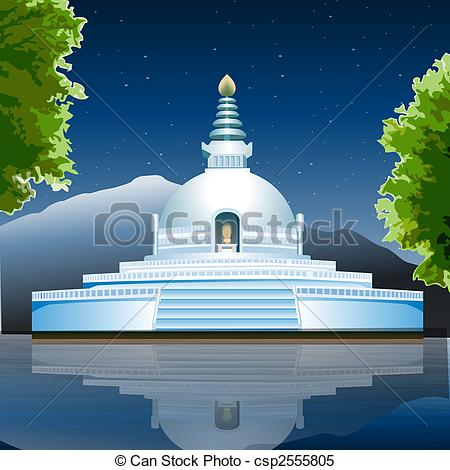 Place clipart buddhist temple #8