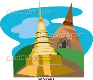 Place clipart buddhist temple #7