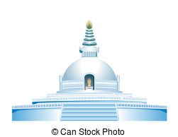 Place clipart buddhist temple #4