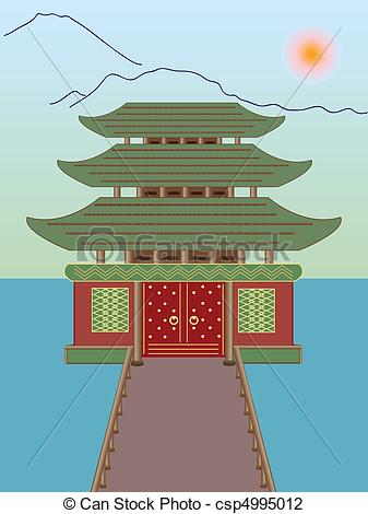 Place clipart buddhist temple #6
