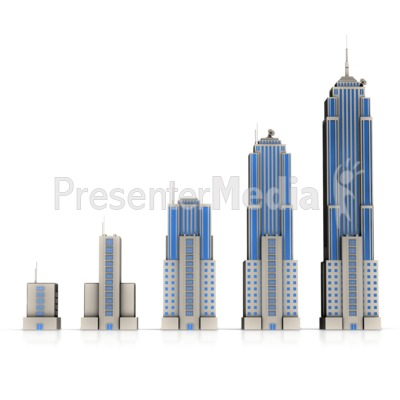 City clipart business building PowerPoint Building Great Growth Business