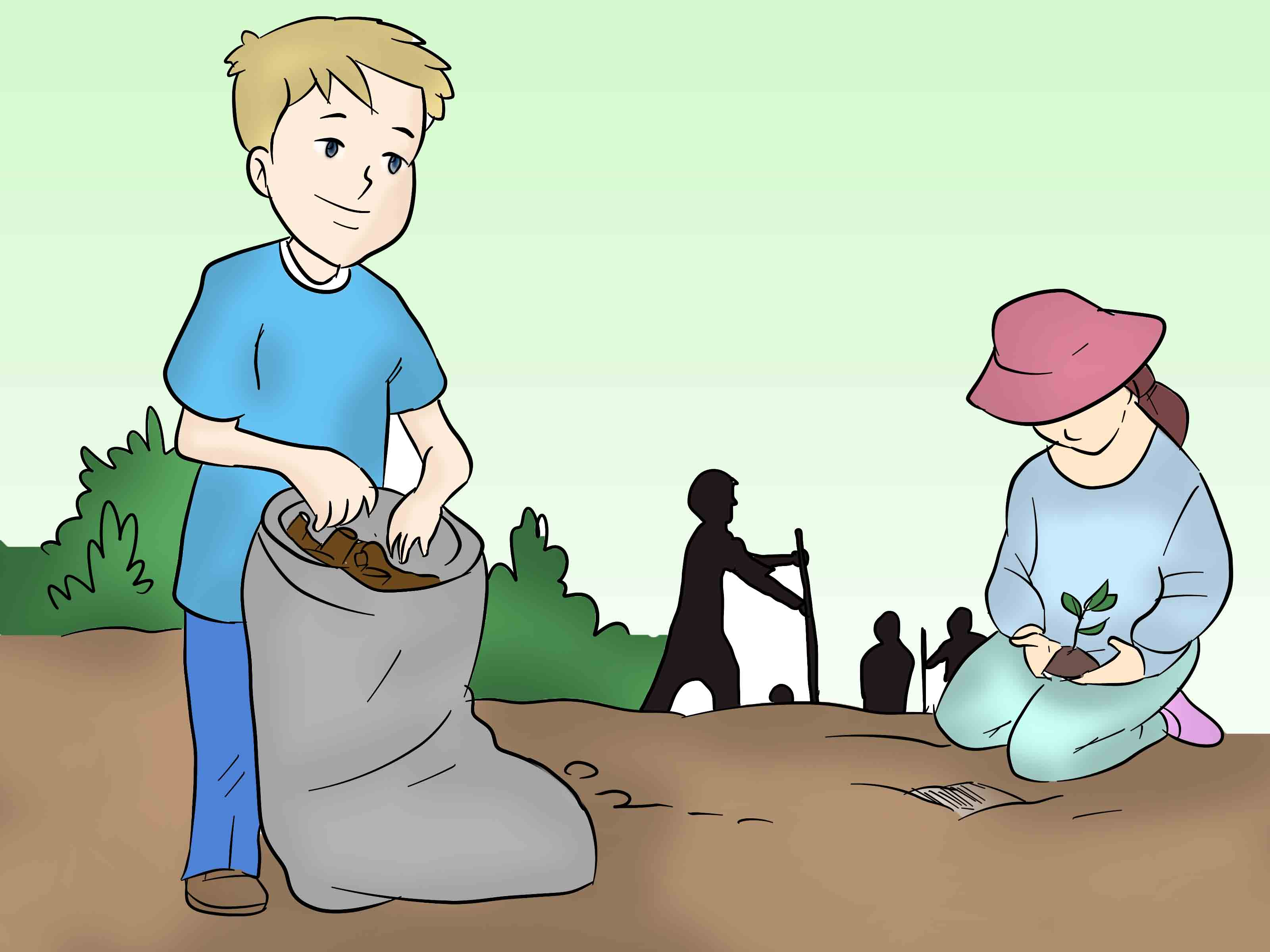 Places clipart clean surroundings In Individual Role Individual the