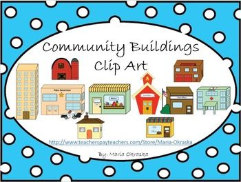 Place clipart community building Cliparts Art Free Center Clip
