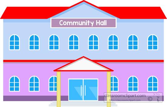 Place clipart community building #8