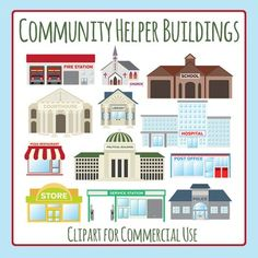 Place clipart community building Of and your Community art